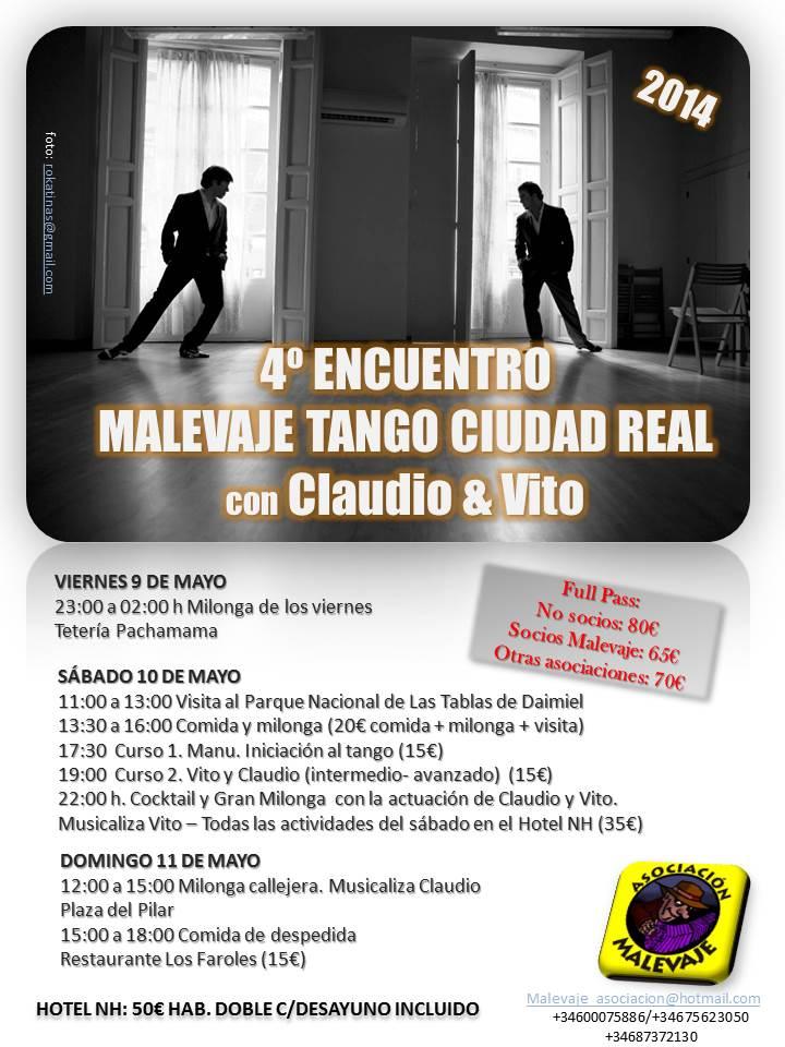 ¡Otro año preparándonos para la gran fiesta del tango!